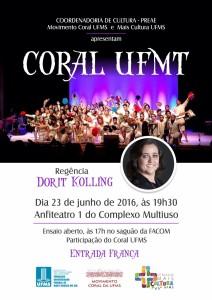 Cartaz Coral UFMT-1